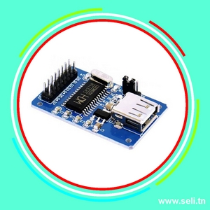 CH376S INTERFACE USB LECTURE / ECRITURE POUR ARDUINO.Arduino tunisie