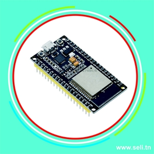 ESP32S - WROOM-32S CARTE DEVE WIFI+BLUETOOTH 38 BROCHES.Arduino tunisie