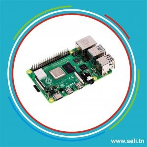 RASPBERRY PI 4 MODEL B 2GB RAM.Arduino tunisie