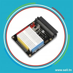CARTE D EXTENSION PROTOTYPE SHIELD POUR MICRO:BIT.Arduino tunisie