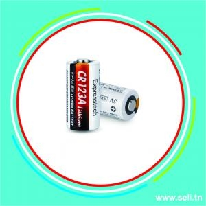 CR123A 3V 1300MAH LITHIUM BATTERY - NON RECHARGEABLE.Arduino tunisie