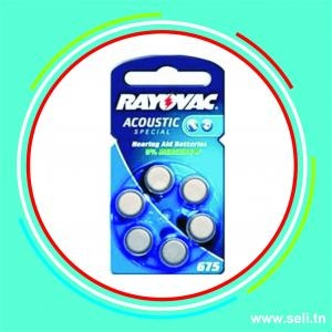 PILE 675 ACOUSTIC SPECIAL  RAYOVAC PR48 B6P.Arduino tunisie