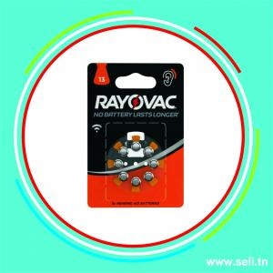 PILE 13 ACOUSTIC SPECIAL  RAYOVAC PR48 B8P.Arduino tunisie